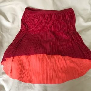 Two color skirt